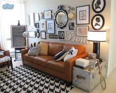 Better After: nine steps for hanging a gallery wall.   Jaimee Rose  http://jaimeerose.com/how-to-hang-a-gallery-wall-in-9-steps/