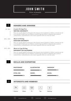 Sleek Resume Template Pag 2