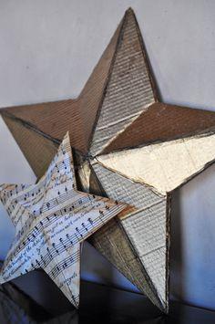 Craft Fun – 3D Christmas Star - FREE PRINTABLE STAR TEMPLATE