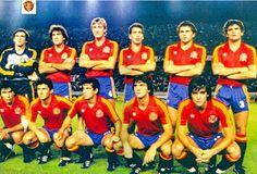 EQUIPOS DE FÚTBOL: SELECCIÓN DE ESPAÑA 1983-84
