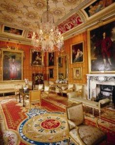 Cinnamon Drawing Room - Harewood house
