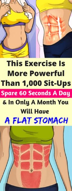 This Exercise Is More Powerful Than Sit-Ups motivation, cuerpo fitness Ectomorph Workout, Flat Stomach, Flat Belly, Flat Tummy, Lose Belly, Fitness Nutrition, Fitness Tips, Fitness Outfits, Fitness Style