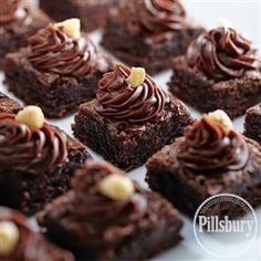 Mocha Hazelnut Dessert Bites from Pillsbury® Baking
