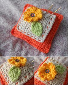 pamistyle: Gehäkeltes Nadelkissen *** crocheted pincushion