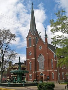 Church and Broadway Fountain, Madison, Indiana