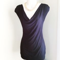Casual Top Long Thin Black Casual Top (Can wear to work then straight to HappyHour) Any Questions Please Ask before Purchase No Paypal || No Trades || Posh Rules Only  Shipping:  Bundle and Save on Shipping Items are shipped within 24-48 hours of payment {Mon-Fri.}  Please Check Out my other listings for the best in brand new and gently used clothing, shoes and accessories. Happy Poshing!!! Lavish Couture Tops