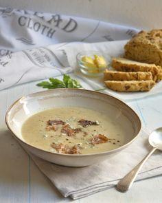 Sweet Potato, leek and Biltong Soup http://www.my-easy-cooking.com/2014/05/14/sweet-potato-leek-biltong-soup/