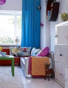 www.decocrush.fr | Anki and Casper colourful home in The Netherlands