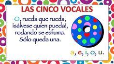 APRENDEMOS LAS CINCO VOCALES POEMA DE CARLOS REVIEJO -Orientacion Andujar Montessori, Preschool Activities, Teacher, Ideas Para, Spanish, Children's Literature, Amor, Preschool Worksheets, Teaching Vowels