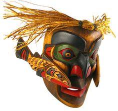Salmon Mask By Alfred Robertson