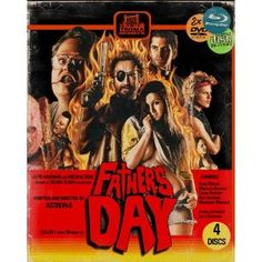 Father's Day 4 Disc Limited Edition Numbered Blu-ray/ 2x DVD/CD (Troma)