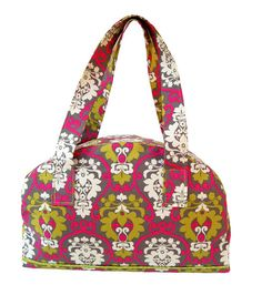 If anyone knows how to sew, there are instructions for the bag and other accessories. I just love the fabric!