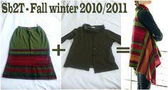 Reconstructing - Collection automne hiver 10/11 - Modèle 6 - Surtout beaucoup 2... tout & 2 rien