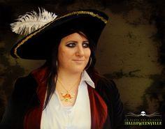 Maquillage de femme pirate pour lHalloween