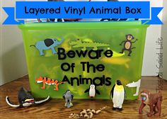 My Mom Made That: Beware of Animals Vinyl Box