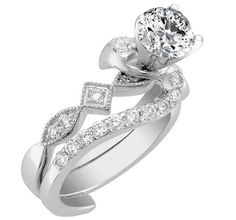 Swirl Interlocking bridal set