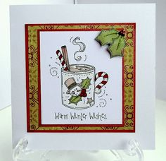ON THE CARDS: Few Christmas cards.