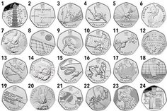 Rare Beatrix Potter 50p coins that could be worth a lot more money than you think | Hull Daily Mail