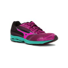 Mizuno Wave Sayonara 3 ($110) ❤ liked on Polyvore featuring shoes, athletic shoes, women, training shoes, light weight shoes, lightweight shoes, rubber shoes and mizuno shoes