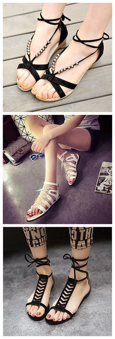 You ca not miss these nice sandals in summer.  Check them out at 85% OFF!