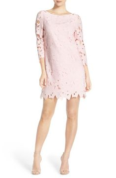 08f37f14d93 Felicity  amp  Coco Belza Floral Lace Shift Dress (Nordstrom Exclusive) at  Nordstrom.