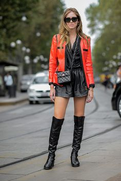 Leather and leather