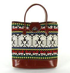 Vintage Guatemalan Quetzal Bird Fabric Handbag