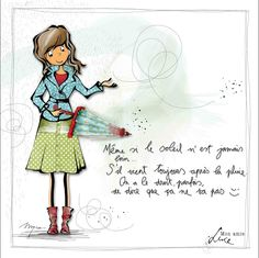 "MYRA & les couleurs ...: mon amie ""LUCE"" Image Positive, Positive Attitude, Graphic Design Illustration, Photo Illustration, Image Club, Electronic Cards, Love Sms, Funny Pictures, Cool Pictures"