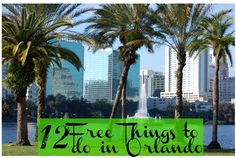 Save your money for the theme parks! Stretch your vacation budget with these 12 FREE things to do while you're in Orlando!