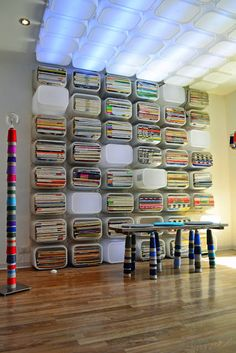 Ikea Hacks 42 love this idea. for many things even crafts.