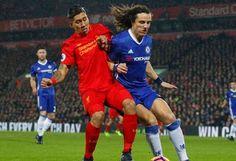 Blog Esportivo do Suíço:  David Luiz marca de falta, e Chelsea empata com o Liverpool