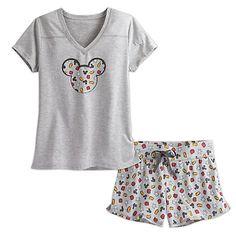 Best of Mickey Mouse Short Sleep Set for Women Pyjamas, Adult Pajamas, Cozy Pajamas, Pajamas Women, Pajama Outfits, Disney Outfits, Disney Clothes, Women's Clothes, Cute Pjs