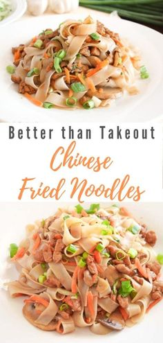 Treat yourself to a heaping serving of these finger-lickin' good Chinese Fried Noodles (Zha Jiang Mian) with minced pork, sweet and salty black bean sauce and fresh vegetables! The perfect easy weeknight dinner for when you crave homemade fake-out take-ou Dinner Recipe For 6, Delicious Dinner Recipes, Bacon Recipes, Dog Food Recipes, Rice Recipes, Easy Weeknight Dinners, Easy Meals, Recipes Kids Can Make, Asian Recipes