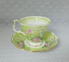 Royal Albert Tea Cup & Saucer Vintage by RaindropVintageShop