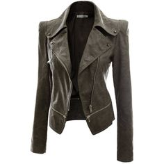 Doublju Women's Faux Leather Power Shoulder Jacket ($29) ❤ liked on Polyvore featuring outerwear, jackets, coats, leather jacket, tops, vegan leather jacket, fake leather jacket, vegan jackets, synthetic leather jacket and imitation leather jacket