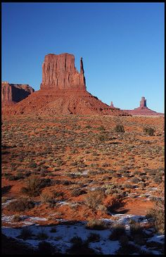 The Mittens, Monument Valley Navajo Tribal Park, UT / AZ; photo by .rickz