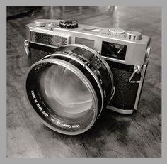Canon 7 RF Canon 50mm 1:0.95 Dream lens.