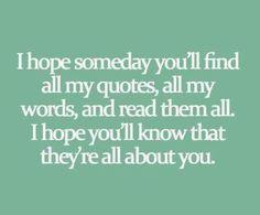 ANNNNNDDD he will:)