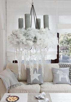 adventskranz cozy living room decorating christmas cushion cover