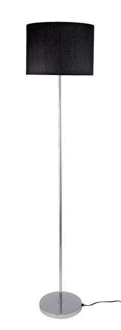 Gulvlampe LIPARI Ø34xH160cm sort | JYSK