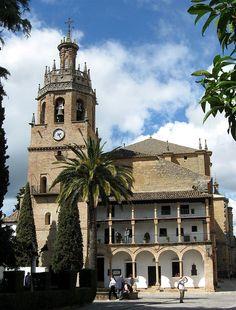 Santa Maria la Mayor Ronda Malaga
