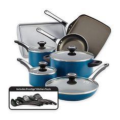 Farberware® High Performance Nonstick Aluminum 17-Piece Cookware Set - bed batha nd beyond