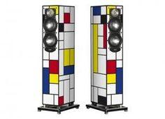 ELAC Speakers, De Stijl Edition