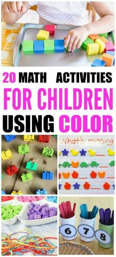 Sometimes kids needhands-on math activitiesto grasp mathematical concepts. It's even more helpful when we add colorful blocks and manipulatives.