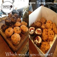 Which of these #freshlybaked #treats would you choose? #muffins or #cookies? at Tapeo: 82 Redfern St, Redfern NSW. Check us out at http://www.Tapeo.com.au & follow us on FB http://FB.com.tapeo.au #tapeo #tapeocafe #tapeoredfern #redfern #sydneycafe #sydney #cafe #restaurant