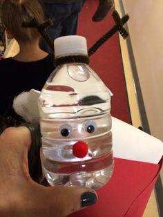 Water bottle reindeer