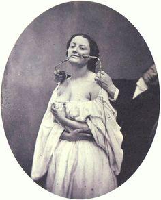 "Portrait of a neurologist using ""Electro-stimulation"", Adrien Tournachon, ca. 1862"