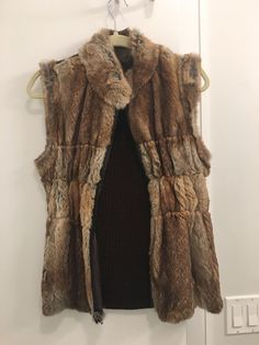 Genuine Rabbit Fur Vest #Lindasluxuryitems
