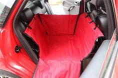 Single-seated Dog Car Seat Cover Waterproof