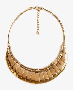 Metal Fringe Bib Necklace | FOREVER21 - 1027704296